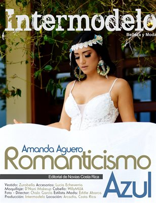 Set Editorial - Romanticismo Azul - Intermodelo - Amanda Aguero