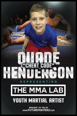 "Quade ""Cheat Code"" Henderson - Poster"