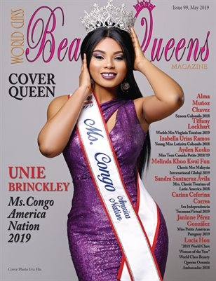 World Class Beauty Queens Magazine Issue 99 with Unie Brinckley