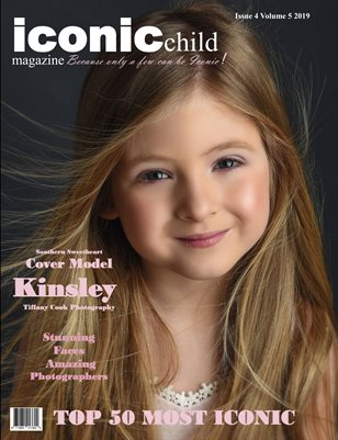 Iconic child magazine Issue 4 volume 5 2019 TOP 50 Most iconic