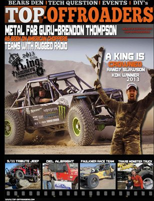 March issue 2013 Top-offroaders Magazine