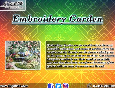 Embroidery Garden (DigitEMB)