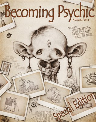 Becoming Psychic November Magazine 2014