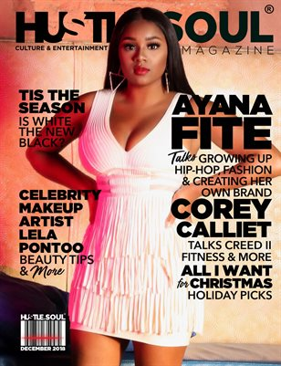 Ayana Fite Cover Feature Hustle & Soul 2018