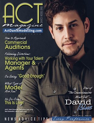ACT Dance Model Sing Magazine Issue 32