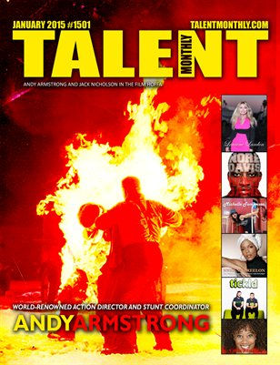 Talent Monthly Magazine January 2015