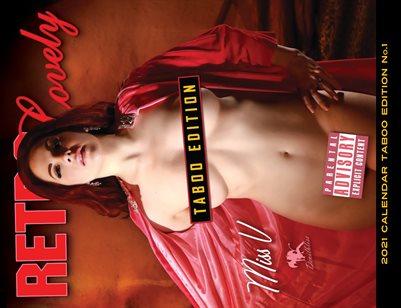 2021 Taboo Edition Calendar NUDES - Miss V Cover