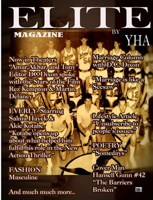Elite Magazine by Y.H.A (May-June Issue)