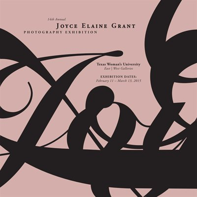 14th Annual Joyce Elaine Grant Photography Exhibition Catalog