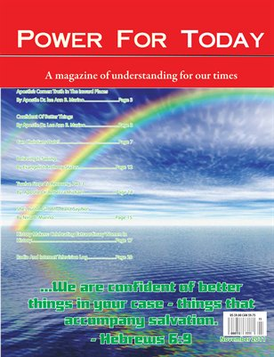 Power For Today Magazine, November 2011