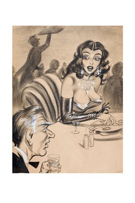 Surprises at Dinner Adult Cartoon