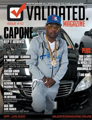 Validated Magazine ft. Capone (CNN)
