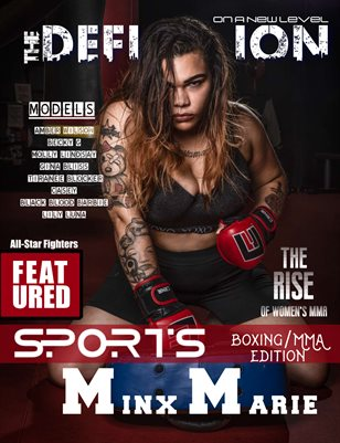 The Definition: Boxing/MMA edition Minx Marie Cover