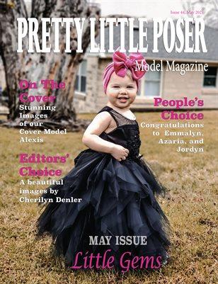 Pretty Little Poser Model Magazine - Issue 44 - Little Gems - May 2021