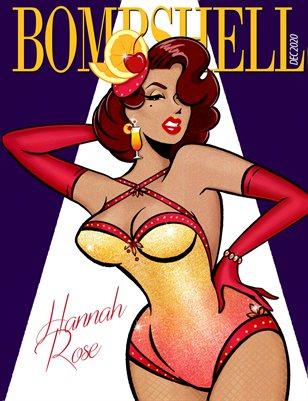 BOMBSHELL Magazine December 2020 - BOOK 2 Hannah Rose Cover