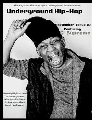 Underground Hip-Hop Magazine September Issue #18