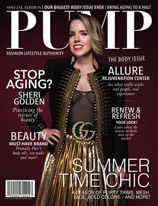 PUMP Fashion Lifestyle Magazine - July 2017 - The Body Issue