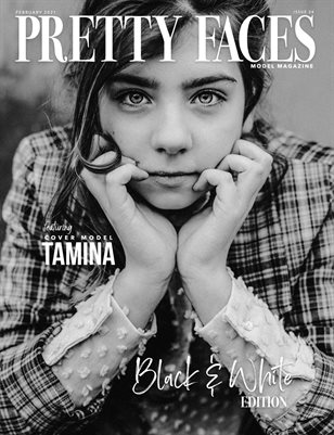 Pretty Faces Model Magazine | Issue 24 | Black & White Issue