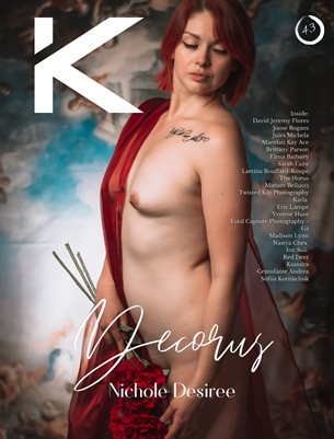 Kansha Magazine Chapter 43 Featuring Nichole Desiree