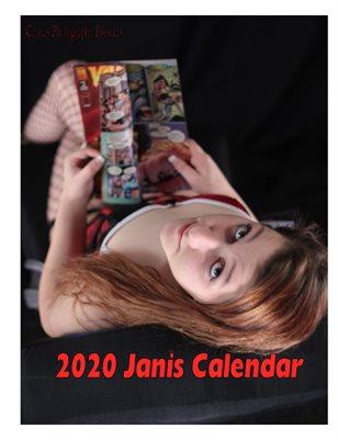 2020 Janis calendar