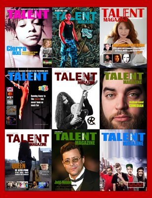 Talent Monthly Magazine Media Kit