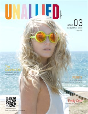 UNALLIED Magazine - Issue 03 - August 2012