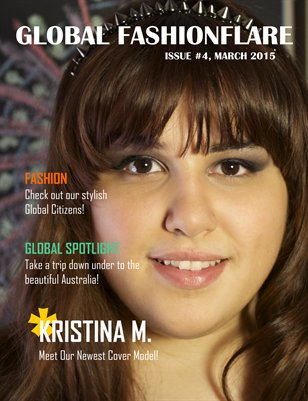 Global FashionFlare Magazine #4, March 2015