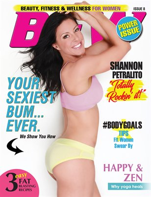 BFW Magazine: Beauty, Fitness & Wellness for Women featuring Shannon Petralito