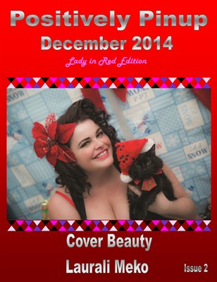Positively Pinup Magazine, Lady In Red Edition, Dec 2014