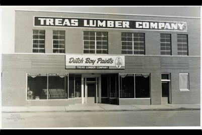 "Treas Lumber Company ""Dutch Boy Paints"", Marshall County, Kentucky 2"