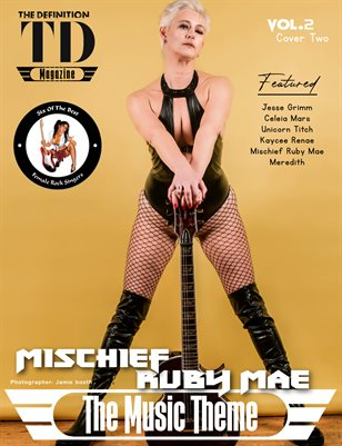 The Definition of Music: Mischief Ruby Mae Vol.2 Cover 2