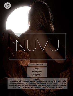 Nuvu Magazine Nude Book 63 Featuring Khristyna Kavetska