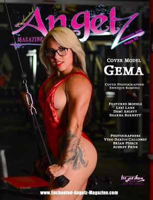 ENCHANTED ANGELZ MAGAZINE - Cover Model Gema - November 2018