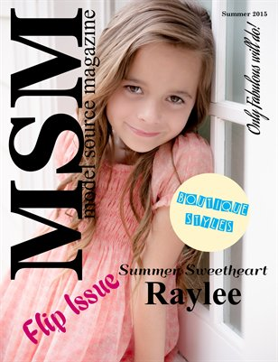 Model Source Magazine Summer Issue 2015