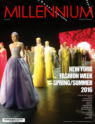 MILLENNIUM MAGAZINE | NEW YORK FASHION WEEK | SS 2016 | B