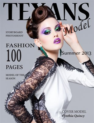 Texans Model Magazine Summer 2013