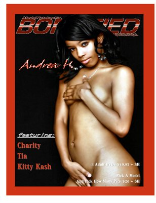 Bonafied Magazine Andrea H September 2015 Issue