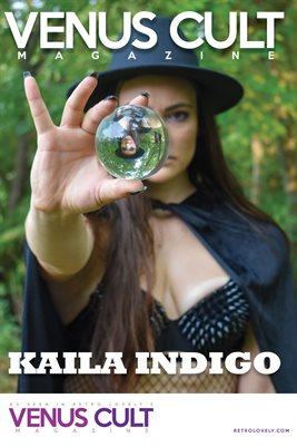 Venus Cult No.38 – Kaila Indigo Cover Poster