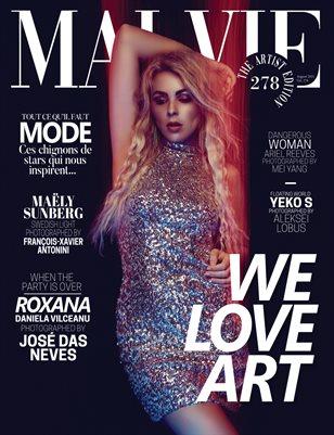 MALVIE Magazine The Artist Edition Vol 278 August 2021