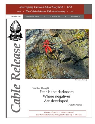 November 2011, Cable Release, Vol. 53, No. 3