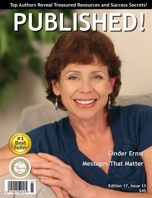 PUBLISHED! Magazine featuring Cinder Ernst