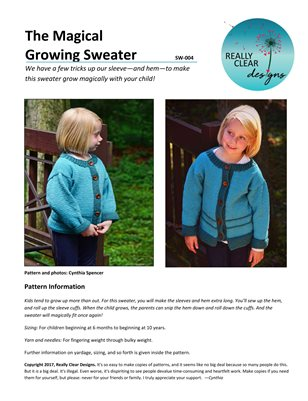 Magical Growing Sweater