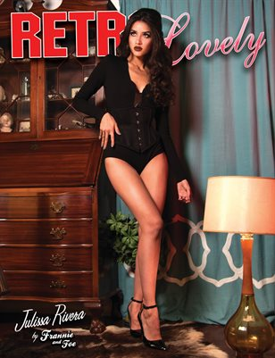 Retro Lovely No.21 - Julissa Rivera Cover