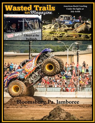 Free Download - & $1 off reg. print price --Wasted Trails 4x4 Magazine August 2014 vol 15