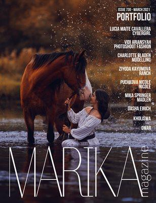 MARIKA MAGAZINE PORTFOLIO (ISSUE 730 - MARCH)
