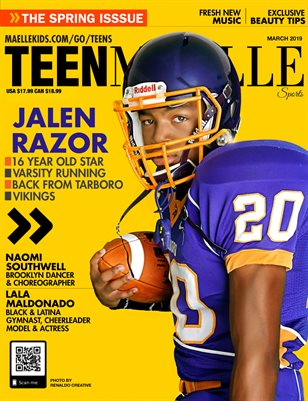 Maelle Kids Sports March 2019 -Jalen Razor