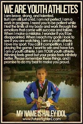 Haley Idol Youth Athlete - Poster