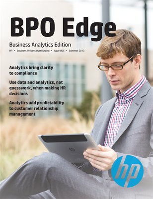 BPO Edge Issue 5 - Business Analytics Edition (Summer 2013)