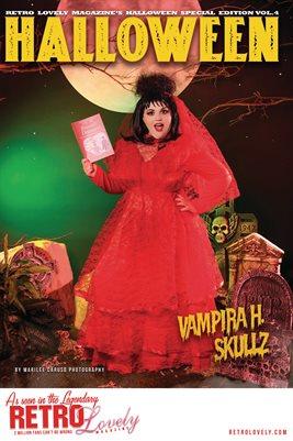 Halloween 2021 Vol.4 – Vampira H. Skullz Cover Poster