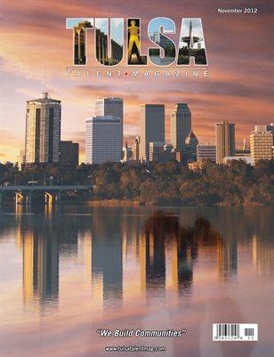 Tulsa Talent Magazine November 2012 Edition